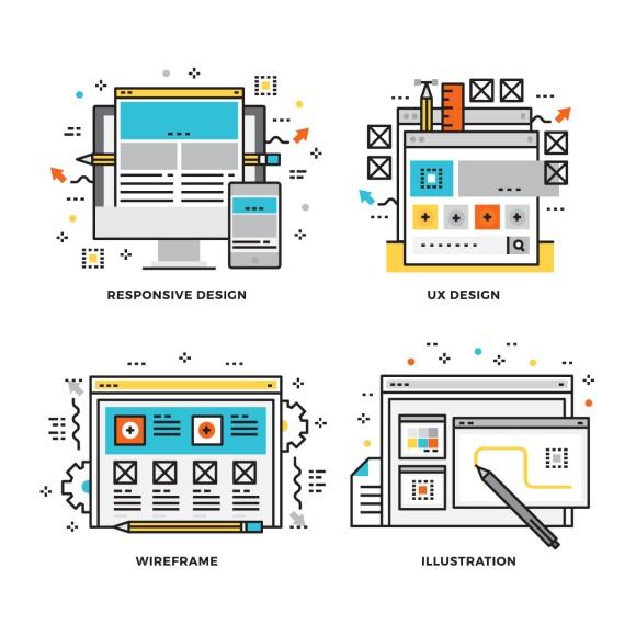 홈페이지, 웹, 모바일앱 기획 와이어프레이밍의 이해와 도구 추천1