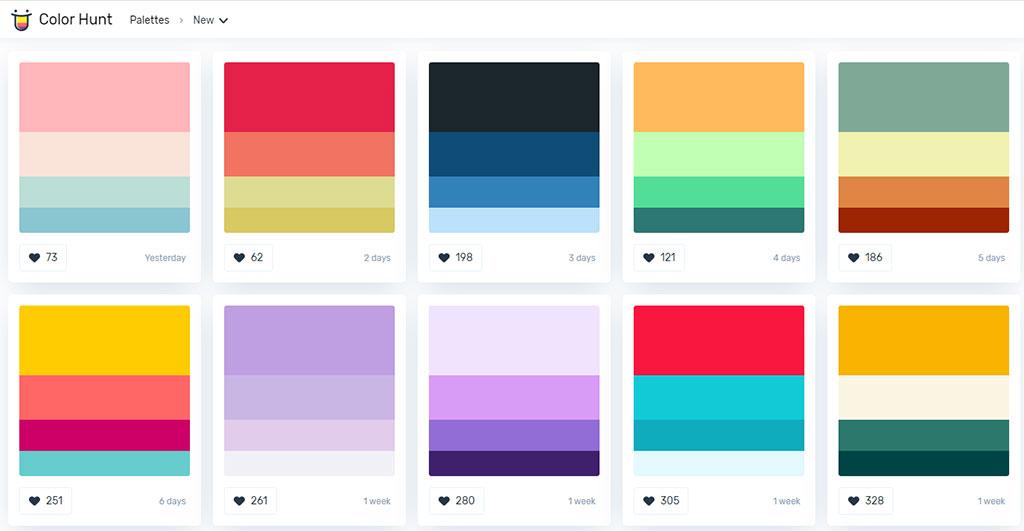 홈페이지-썸네일-ppt-만들-때-컬러-색상-선택-조합-배색-추천-사이트-6